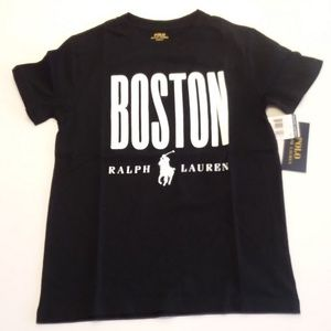 NWT Kid's Polo Ralph Lauren Boston T-Shirt